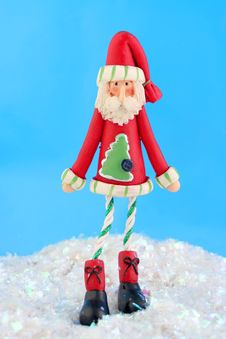 Free Skinny Santa Stock Photos - 6077793