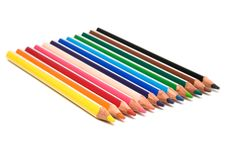 Free Color Pencils Royalty Free Stock Photos - 6078148