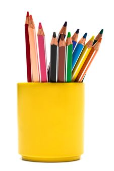 Free Color Pencils Royalty Free Stock Photos - 6078168