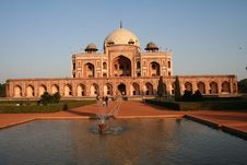 Free Humayuns Tomb Royalty Free Stock Photography - 6078467