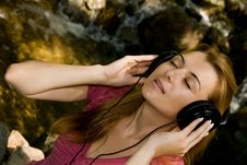 Free Music Girl Royalty Free Stock Photo - 6078665
