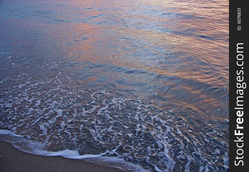 Florida East Coast Beach at Dawn