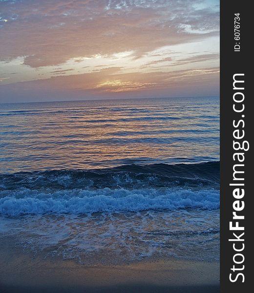 Florida East Coast Beach at Dawn 3