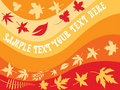 Free Background With Autumn Leaves Royalty Free Stock Photo - 6081695