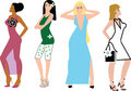 Free Fashion Girls Stock Photography - 6083992