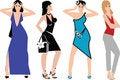Free Fashion Girls Royalty Free Stock Photos - 6084008