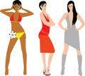 Free Fashion Girls Stock Photo - 6084020