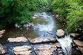 Free Creek Flowing Over Rocks Stock Photography - 6086762
