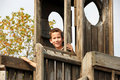 Free Boy On Playground Stock Image - 6089431