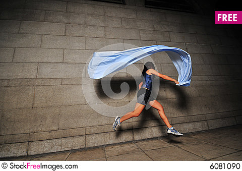 Free Girl In Motion 11 Stock Photo - 6081090