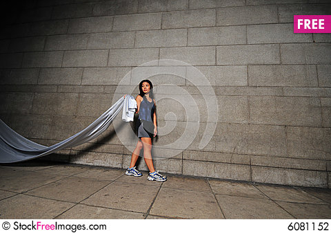 Free Girl In Motion 13 Stock Photography - 6081152