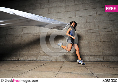 Free Girl In Motion 19 Stock Photo - 6081300