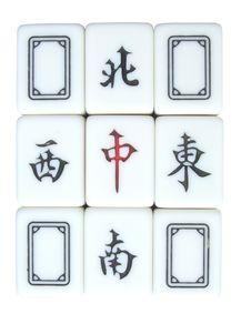 Free Mahjong Royalty Free Stock Image - 6080216