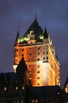 Free Chateau Frontenac Stock Photography - 6080242