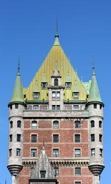 Free Chateau Frontenac Stock Photos - 6080303
