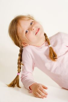 Free Blond Girl Smiling Royalty Free Stock Photography - 6081237