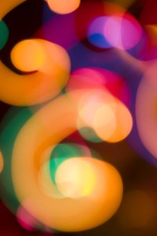 Free Abstract Color Light Stock Image - 6081271