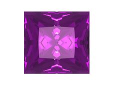 Free Amethyst Isolated On White Background Royalty Free Stock Photos - 6081408