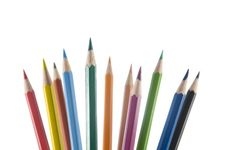 Free Pencils Upright Royalty Free Stock Images - 6081759