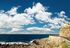 Free Seascape From Ancient Fortress Stock Image - 6082241