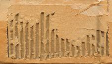 Old Cardboard Scrap Texture Stock Photos