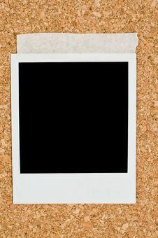 Free Blank Instant Photo Stock Image - 6082741