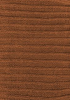 Brown Wool Fabric Textile Texture Stock Image