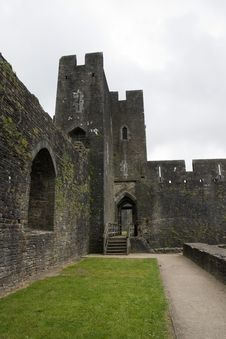 Free Caerphilly Castle Stock Photography - 6083202