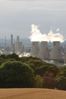 Free Grangemouth Refinery Royalty Free Stock Photography - 6083297
