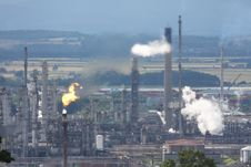 Free Grangemouth Refinery Stock Photography - 6083302