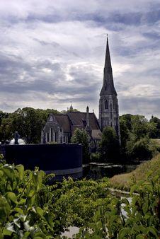 The English Church Royalty Free Stock Photos