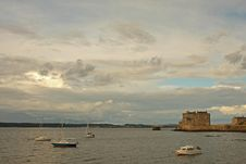 Free Blackness Castle Royalty Free Stock Image - 6083336