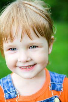 Free Close Up Little Girl Portrai Stock Photos - 6083433