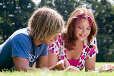 Free Summer Study Stock Image - 6084011