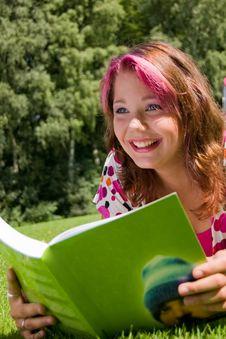 Free Summer Study Royalty Free Stock Photos - 6084458