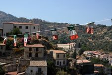 Free Sicilian Village Stock Photography - 6084862