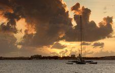 Free Sunset At Bay Royalty Free Stock Photography - 6084947