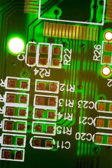 Free Circuit Board Royalty Free Stock Photo - 6085515