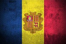 Free Grunge Flag Of Andorra Stock Image - 6085631