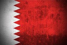 Free Grunge Flag Of Kingdom Of Bahrain Royalty Free Stock Photography - 6085757
