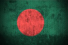 Free Grunge Flag Of Bangladesh Royalty Free Stock Photos - 6085808
