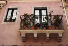 Free Sicilian Balcony Stock Photo - 6085880