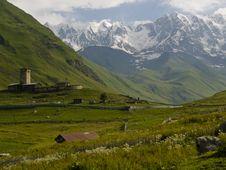Free Ushguli Stock Photography - 6086012