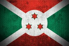 Free Grunge Flag Of Burundi Royalty Free Stock Photo - 6086025