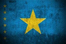 Free Grunge Flag Of Democratic Republic Congo Stock Photography - 6086172