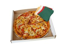 Free Pizza In Box Royalty Free Stock Photography - 6086327
