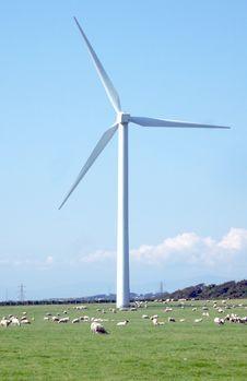 Free Wind Turbine Royalty Free Stock Photos - 6086838