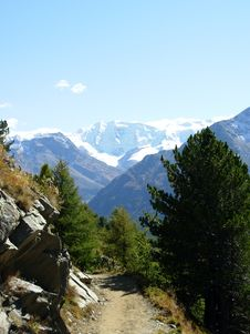 Free Glacier In Swiss Alpes Stock Photos - 6087203