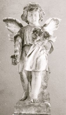 Free Angel Statue Stock Image - 6087281