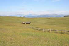 Free Seiser Alm Panorama Royalty Free Stock Images - 6087319